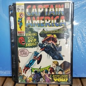 Vintage Captain America Comic # 129